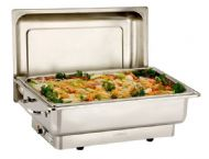 Full Size De Luxe Highly Polished Stainless Steel Chafer, Chafing Set 13.5ltr Capacity